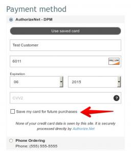 authorize.net dpm for X-cart shopping cart