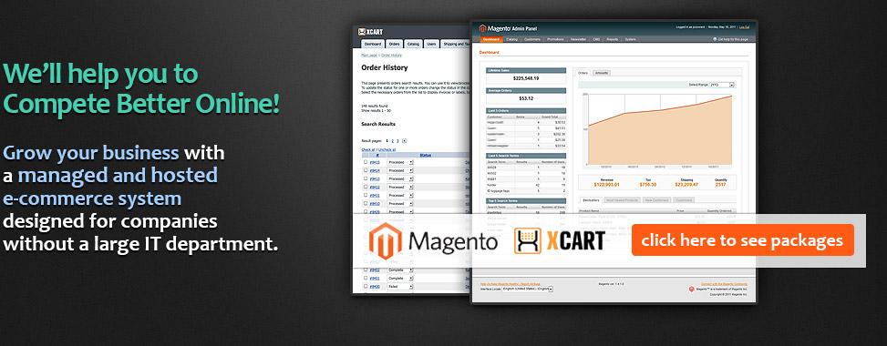 x-cart hosting ecommerce solutions