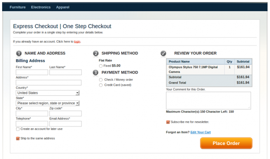 Best Checkout Ideas For Magento Platforms Finestshops Inc